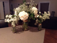 Wedding Decorations! TABLE CENTREPIECES  ($250OBO)