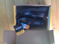 Brand new with tags steel toe shoes