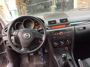 2007 Mazda Mazda3 Sport Touring Edition Sedan