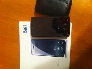 HTC Touch Diamond from BELL with leather case - 50$