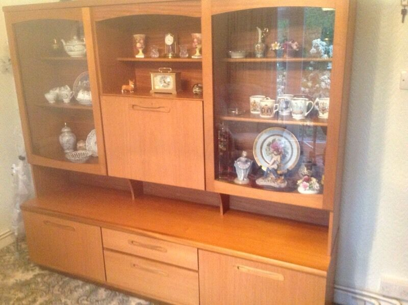 G plan display cabinet in bridgend gumtree for G plan dining room furniture sale