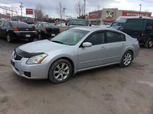 2007.Maxima SLE. 3.5 top of the line leather loaded  183 kms