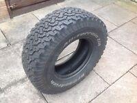 4x4 Goodrich Tyre
