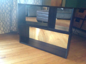 Shelves - Back Mirrored Set of Three