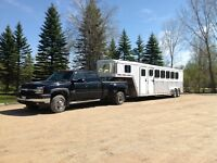 Truck and horse trailer for sale