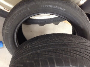 Michelin Hydroedge  $20 for the pair