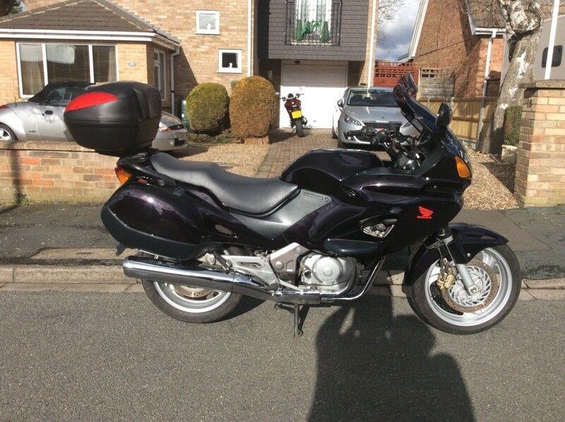 Honda Deauville 650 cc motorcycle