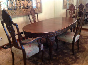 'WORK OF ART'  DINING SET- 70 yr.OLD ❗️UNIQUE OPPORTUNITY❗️