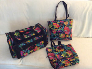 Set of three bags