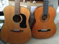 Two guitars for sale