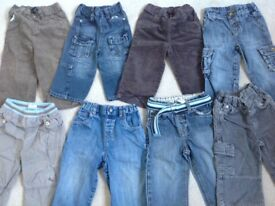 A bundle of baby boys clothes. Age 18-24 months.