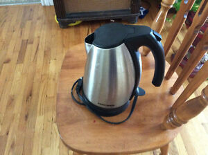 Black and Decker cordless kettle