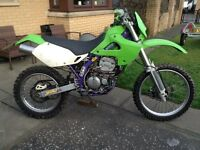 Kawasaki klx300r enduro