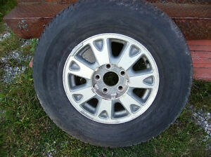 4 Stock Aluminum GMC Jimmy Rims / Good Condition / $100.oo