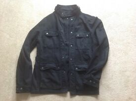 Mens linea military jacket size medium