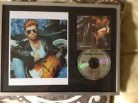 George Michael Faith - special edition CD & signed Photo