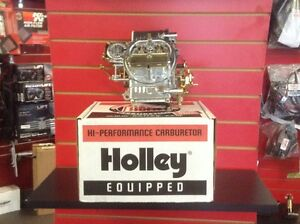 Holley Carburetor; 4 Barrel; 600 (CFM)