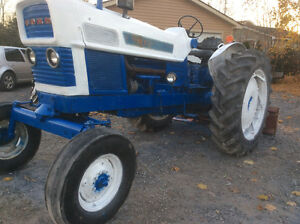 Ford 6000 Commander 2WD farm tractor 1967 67.9 pto hp $4400.00