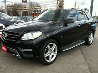 2012 MERCEDES BENZ ML350BT AMG PKG - NAV.BLIND SPOT.REAR CAMERA