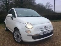 Fiat 500 0.9 Dualogic LOUNGE !! ONLY 27000 MILES FREE ROAD TAX !!!