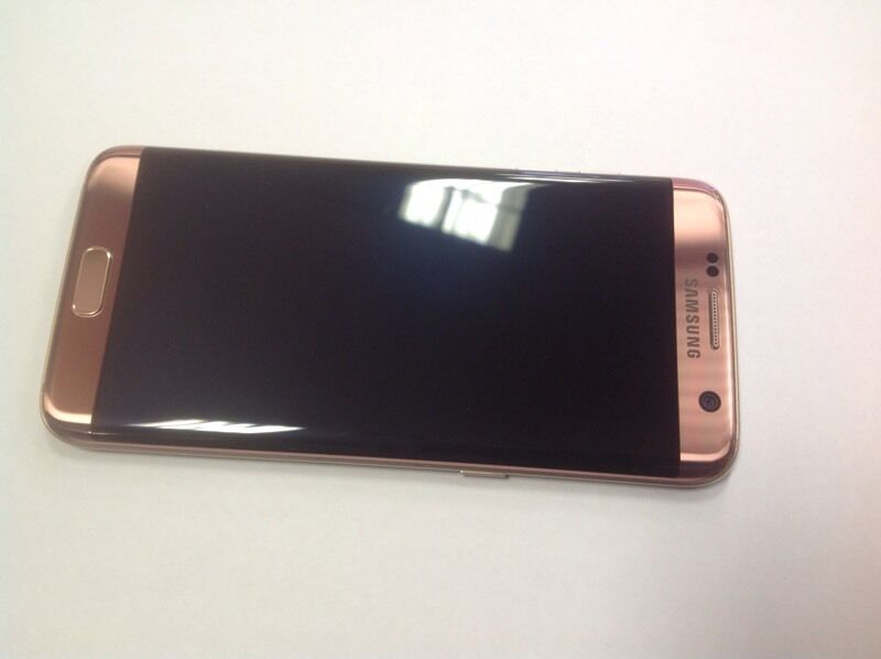 Samsung galaxy s7 edge pink rose gold 2016 32gb unlocked in new