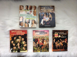 BROTHERS & SISTERS - dvd box sets (all 5 seasons) ~ Only $40 !!