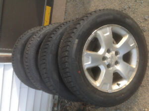 4 NEW 225/60/17 WEATHER MAXX ARTIC SUV TIRES MOUNTED ON 2007 FOR