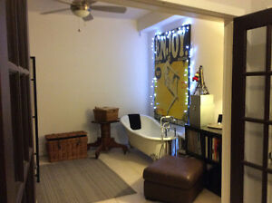 Roncesvalles & Dundas West One Bedroom/ backyard/parking option