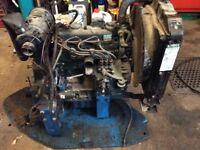 Kubota engine.