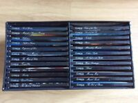 36 CDs in 2 Display Boxes + Text