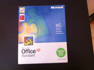 2002 Microsoft office -French