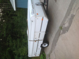 TWO 2004 BONAIR POP UP CAMPERS FOR PARTS ONLY