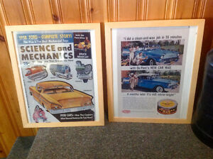 2 Framed Ford Prints