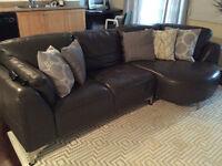 Dark grey sofa/sectional