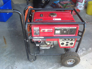 HONDA 5000 GENERATOR for sale