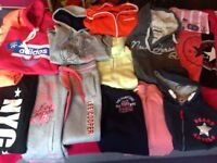 Girls hoodies/zippys track suits