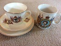 Jubilee tea set