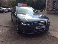 Audi A4 s-line avant 2009 2.0tdi, 3 month warranty, 12 month MOT