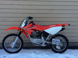 Motocross moto Honda CRF80 F 2010