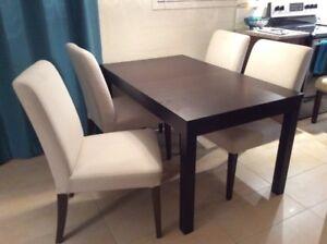 chaises de cuisines en bois