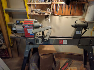 Nova 1642 Lathe with bed extension..