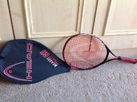 Head Agassi Pirate 60 junior tennis racquet with cover
