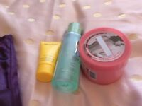 Beauty products for sale