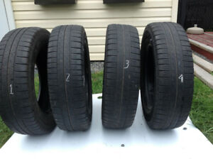 FOUR TIRES (4) – P205/R70R16 GOODYEAR - EAGLE LS