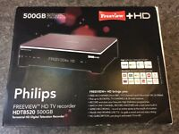 Phillips HDt8520 freeview HD TV recorder
