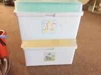 Baby organising box
