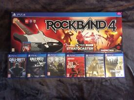 7 PS4 Games - £80 - great condition
