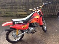 Crosman trials bike in excellent condition