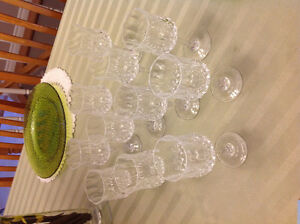 Set of Crystal D'Arc stemware