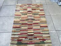 really nice carpet with stripes 42 x 66